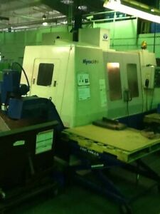 Daewoo Mynx 500 Vertical Machining Center 47 X 20 Table X Axis 40 Y Axis 20