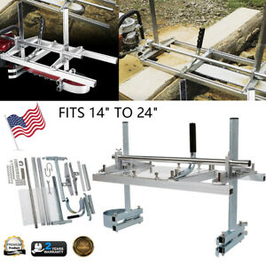 Tc Portable Fast Cutting Chainsaw Mill 24 Planking Milling 14 To 24 Guide Bar