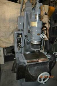 No 2 Moore Jig Grinder 10 X 19 Table Hand Feed Auto Feed 40 000 Rpm Head 440