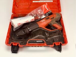 Hilti Dx 460 Concrete Fastener Nailer Powder Actuated Gun With Case And X 460 f8