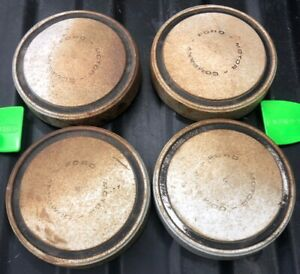 Vintage 1968 1975 Ford F 150 F 100 Hubcap Set X4 Dogdish Dish Awesome Patina