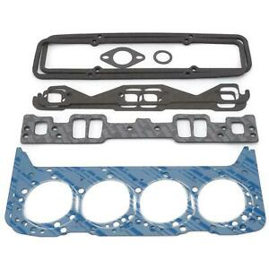Edelbrock 7367 Cylinder Head Gasket Set Chevy Small Block 265 350