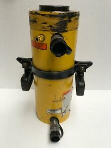 Enerpac Rrh 6010 Double Acting Hydraulic Hollow Cylinder 60 Tons 10 Stroke