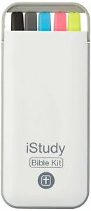 Istudy Bible Kit 3 Highlighters 1 Pen 1 Mechanical Pencil With Compact St