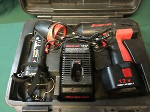 Snap on Ct310 Cordless 3 8 Drive 12 v Impact Wrench Kit 1 Battery