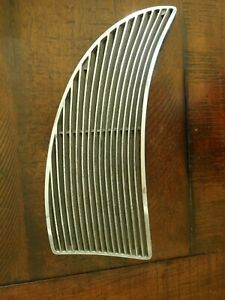 Pontiac Inner Grill Lh 1939 Original Deluxe Six Eight