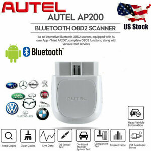 Autel Ap200 Elm327 Obd2 Diagnostic Scanner Epb Bms Dpf Abs Srs Oil Fits Vw Audi