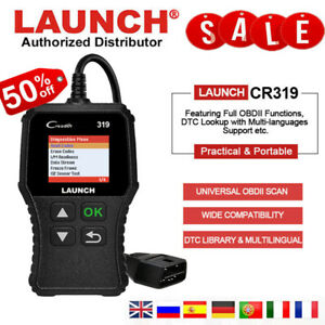 Auto Obd2 Can Eobd Scanner Launch Clear Code Reader Diagnostic Tool For Toyota