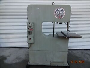 Doall 3012 u Vertical Band Saw 30 And 16 Convertible Depth 12 Vert Reduced