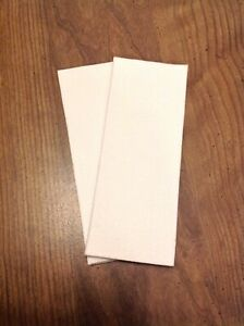 Electroforming Anode Filter Bag X2 1 Micron Polyester Felt For 1 Copper Pipe