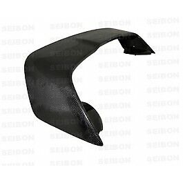 Seibon Carbon Fiber Rear Spoiler For 2008 2012 Mitsubishi Lancer Evo X