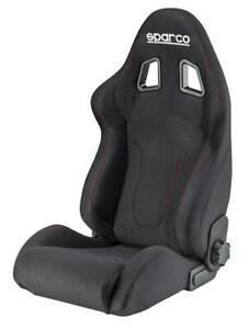 Sparco Street Performance Bucket Seat R600 Black Red