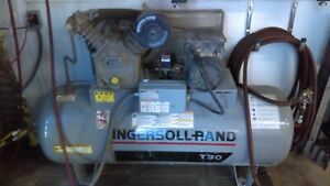 Air Compressor 240v Ingersoll Rand T30 5hp Two Stage