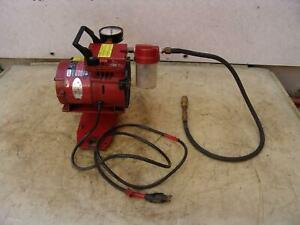 Milwaukee Vacuum Pump 49 50 0200 For Core Drill Rig 120 Volts Works Great