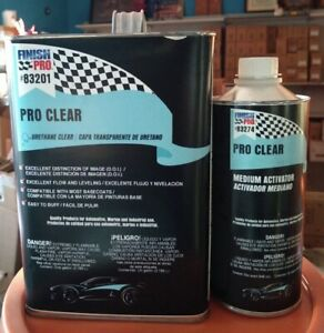 Auto Paint Proclear 83201 Clear Coat Kit With Activator
