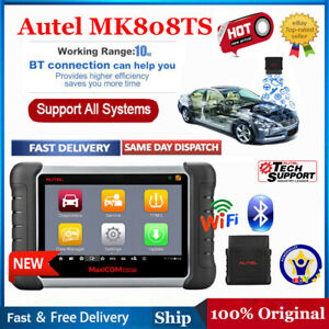 Autel Mk808ts Obd2 Auto Diagnostic Tool All System Code Reader Abs Srs Immo Key