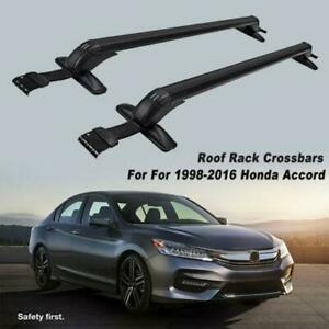 Aluminum Roof Rack Cross Bars Luggage Cargo Carrier For 1998 2016 Honda Accord