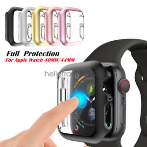 Iwatch 40 44mm Screen Protector Case Snap On Cover For Apple Watch Series 6 5 4