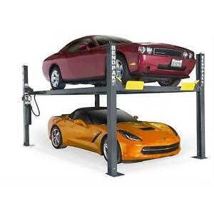 Bendpak Hd9 4 Post Car Truck Lift 9 000 Pound Lifting Capacity