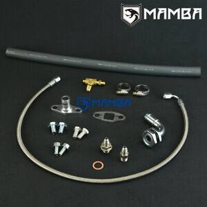 Mamba Universal Turbo Oil Feed Return Line For Borg Warner S200 S300 S400