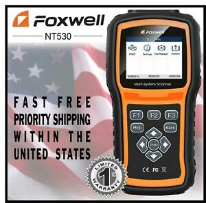 Foxwell Nt530 For Nissan Prairie Multi system Obd2 Diagnostic Scanner