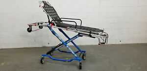 Refurbished Blue Ferno 35x Proflexx Ambulance Stretcher Ems Emt Used Cot Stryker