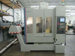 Hardinge bridgeport Model Xr 760 5 axis Cnc Vertical Machining Center