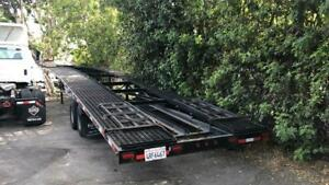14 000 To 18 000 Gvwr 50 Ft 6 Ft Low profile Tandem Dual Wedge Car Trailer
