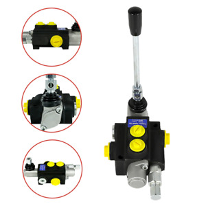 Manual 1 Spool Hydraulic Directional Control Valve 13gpm 3600psi Multi way Valve