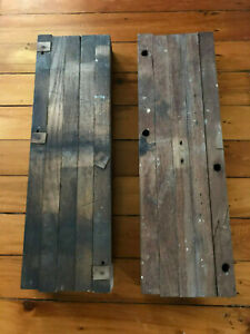 Salvaged Late 1800 S Farm House Harvest Table Extension Slides Free S H