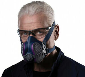 Asbestos Respirator Mask Construction Fine Particles P100 Filter Weld Metal Dust