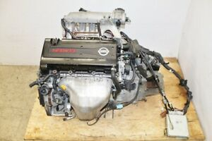 Jdm Nissan Sr20ve Engine 6 Speed Manual Transmission B13 Neo Vvl Primera Nx200