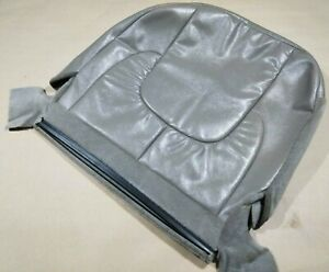 2002 2005 Dodge Ram Rear Leather Bench Seat Back Rest Small Cover Skin Backrest