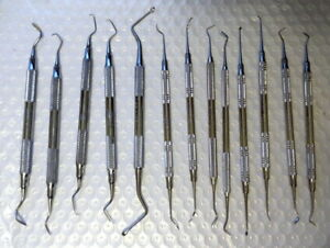 Lot Of 13 Misc Dental Instruments Excellent Condition