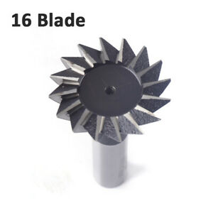 50mm 55 Degree Dovetail Cutter End Mill Cutter Hss Metalworking Cutting Tool