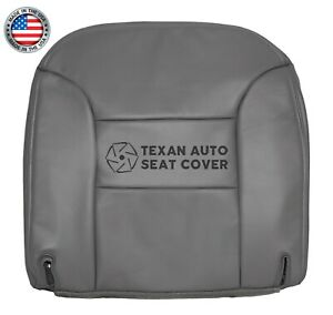 95 96 97 98 99 Chevy Tahoe Lt 2 Door Sport Driver Bottom Leather Seat Cover Gray