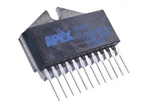 Apex Sa60 H bridge Brush type Pwm Motor Driver Ic 10a 80v