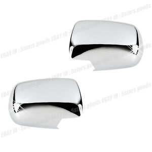 Accessories Chrome Side Mirror Covers Molding Trim For 2003 2008 Honda Pilot Suv