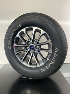 New 2018 Ford F150 Fx4 18 Factory Oem Gray Machined Wheels Rims Michelin Tpms