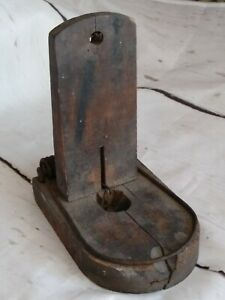 Old Farm Barn Antique Primitive Wood Mouse Rat Trap Tombstone