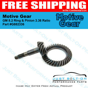 Motive Gear Gm 8 2 Ring Pinion 3 36 Ratio G882336
