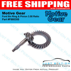 Motive Gear Ford 8in Ring Pinion 3 55 Ratio F880355