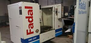 Used Fadal Vmc 15xt Cnc Vertical Machining Center Mill 10 000 Rpm 4th Ready 2005