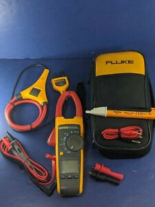 Fluke 376 Trms Clamp Meter I2500 18 Very Good Case Accessories