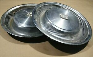 Set Of 2 1973 1978 Cadillac Fleetwood Eldorado Deville Hubcap Wheel Cover Covers