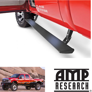 Amp Powerstep Automatic Step Boards Lighted Plug play 2008 2016 Ford F250 F350
