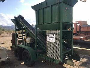 Gold Mining Ball Mill Plant portable Complete Spread W Conveyors