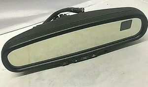 Equinox Saturn Vue Gmc Pontiac Rear View Mirror On star Compass Temp 015607 Oem