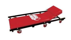 Torin Big Red Rolling Garage Shop Creeper 40 Padded Mechanic Cart With Red