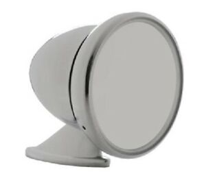 United Pacific Gt Chrome Racing Bullet Style Side Mirror Kit S1401 4 In Round